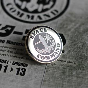 """""""SPACE COMMAND""""のバッジがおまけ。"""