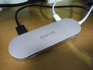 3Q-LEVO Type-C USB ハブ ウルトラスリム