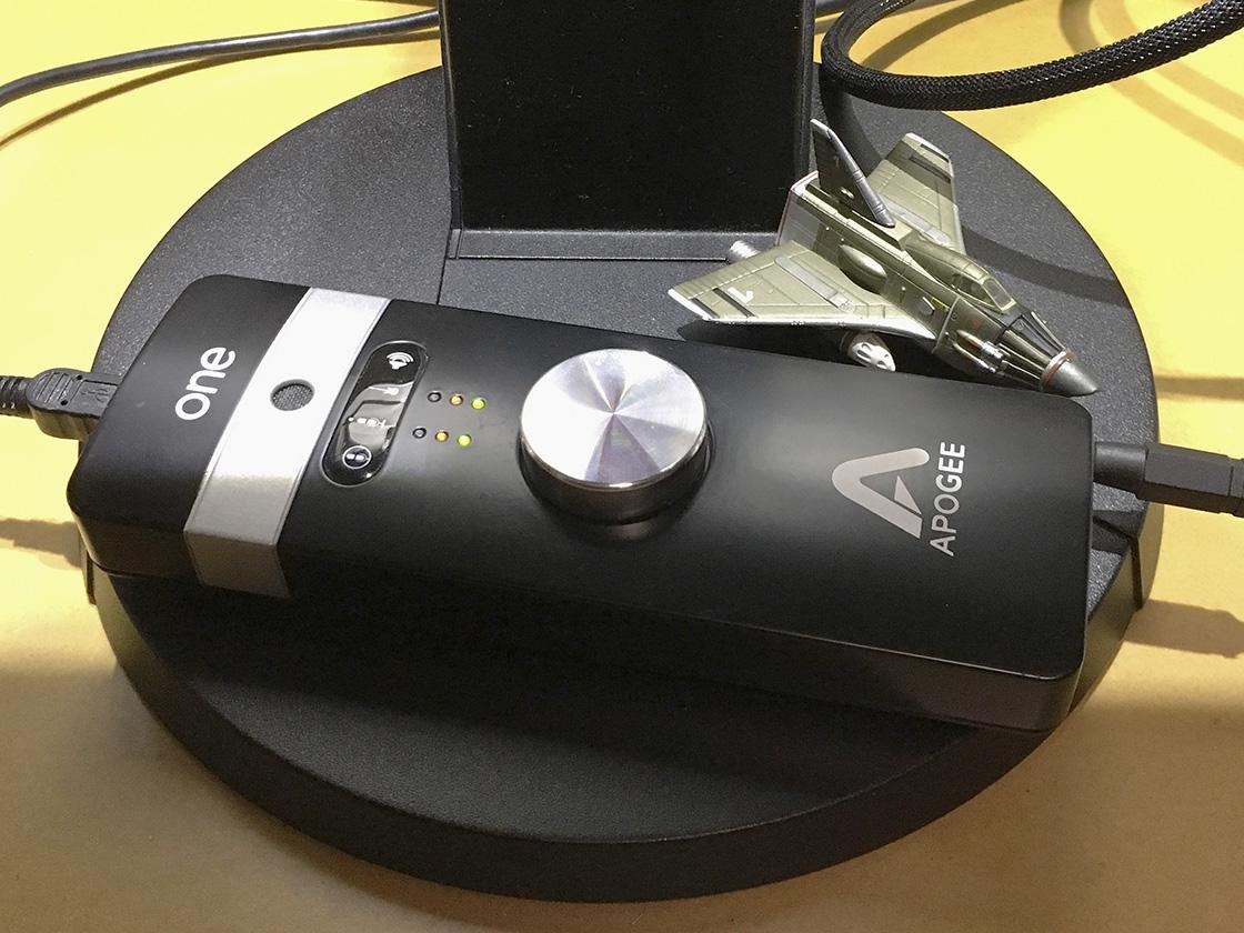 Apogee ONEのMac用ドライバが更新されていた!